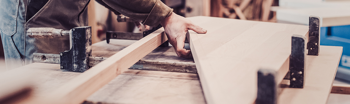 Woodwork,And,Furniture,Making,Concept.,Carpenter,In,The,Workshop,Marks